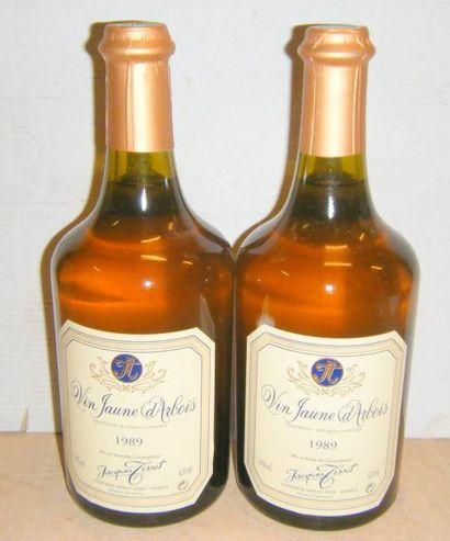 2 bouteilles VIN JAUNE D'ARBOIS - JACQUES...