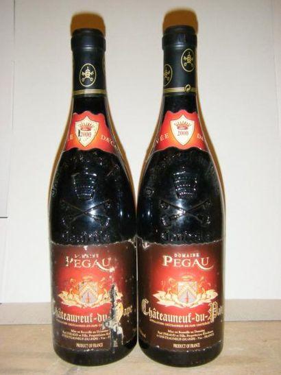 2 bouteilles DOMAINE PEGAU -
