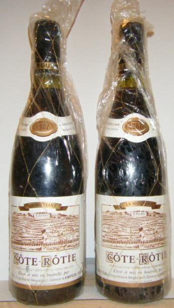 2 bouteilles LA MOULINE 1982