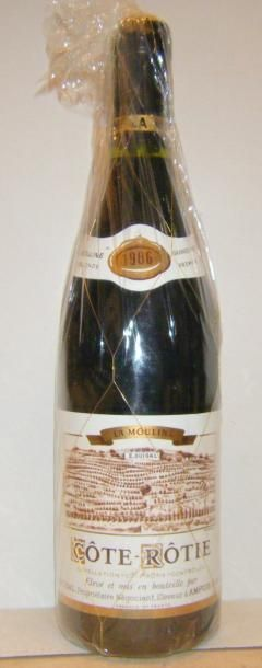 1 bouteille LA MOULINE 1986