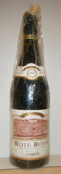 1 bouteille LA MOULINE 1990