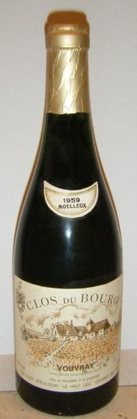 1 bouteille VOUVRAY MOELLEUX