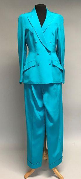 THIERRY MUGLER Couture  Tailleur pantalon...