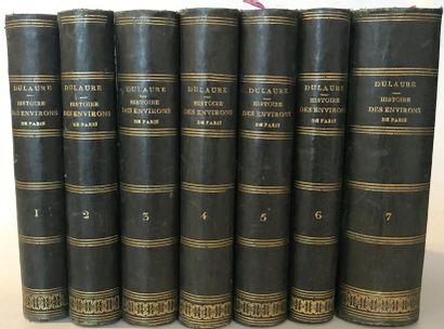 J.-A. DULAURE Histoire physique, civile et...