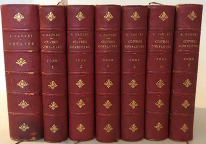 Alphonse DAUDET  Oeuvres complètes en 7 volumes...