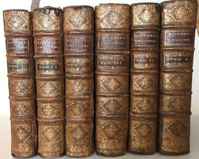 Charles ROLLIN  Histoire ancienne des Égyptiens,...