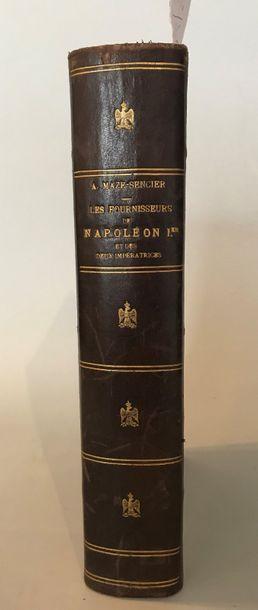 Alphonse MAZE-SENCIER Les fournisseurs de...