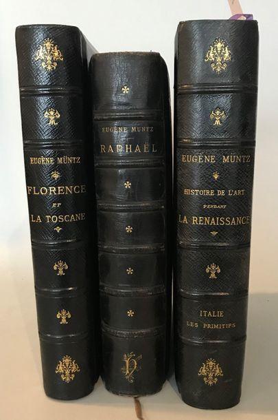 Eugène MUNTZ Raphael Sa vie son oeuvre et...