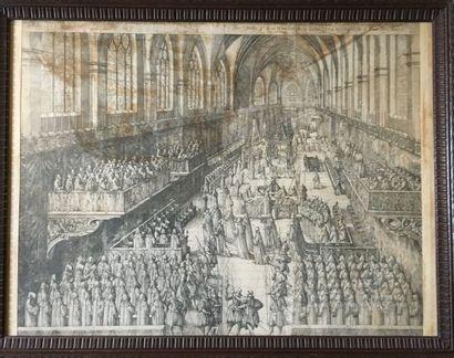 Enterrement du duc Charles III duc de Lorraine...
