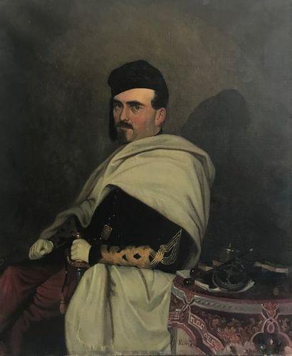 Emile de BANIERES. Ecole française du XIXème...