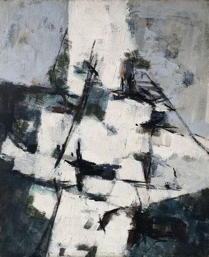 Jean-Paul BARRAY (1930-2012)  Composition,...