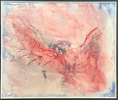 Don FINK (1923-2010)  Composition, circa...