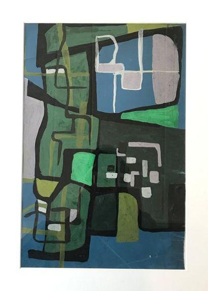 Maurice CHASSAGNE (né en 1934)  Composition...