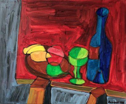 Christian DURIAUD (né en 1944)  The blue...