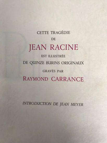 RACINE Phèdre Edition du Grésivaudan Grenoble...