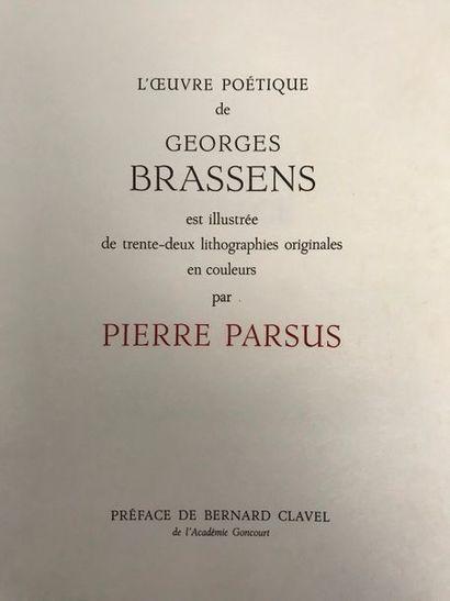 Georges BRASSENS (1921-1981) L'oeuvre poétique...