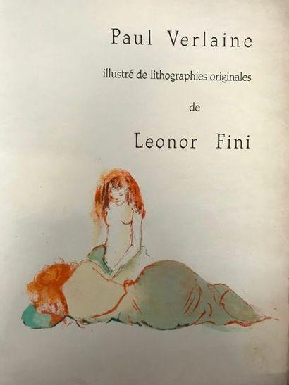 VERLAINE (1844-1896) Parallèlement illustré...