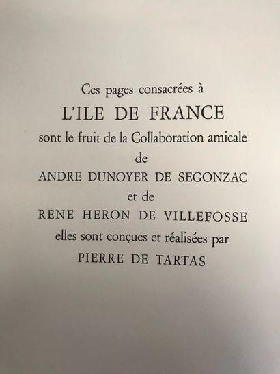 René HERON de VILLEFOSSE (1903-1985) L'ile...