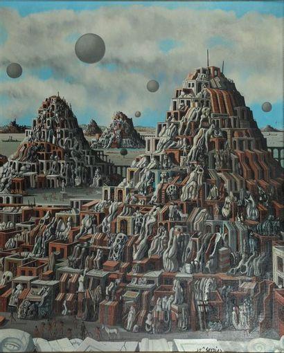 Jean-Pierre SERRIER (1934-1989)  Sodome et...