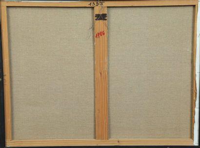 Léon ZACK (1892-1980)  Composition 78  Huile sur toile signée et datée en haut à...