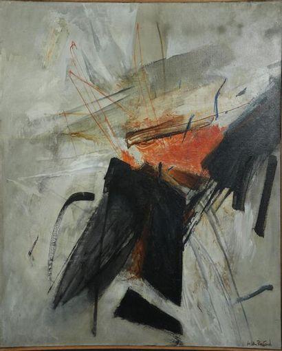 Huguette Arthur BERTRAND (1922-2005)  Composition...