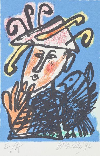 Guillaume van BEVERLOO dit CORNEILLE (1922-2010)...