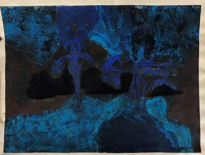 Paul ACKERMAN (1908-1981)  Les archanges...