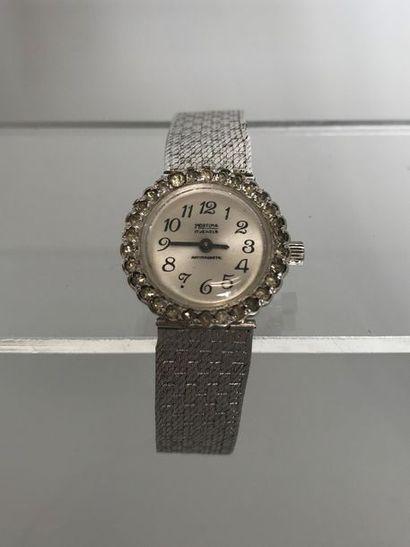 MORTIMA  Bracelet montre de dame en métal...