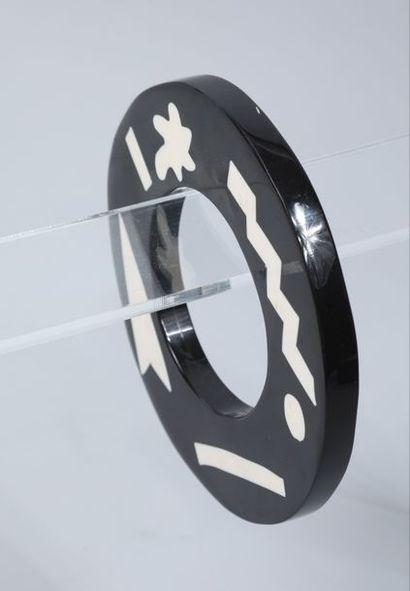 BSD pour HIROKO KOSHINO  Bracelet jonc plateau...