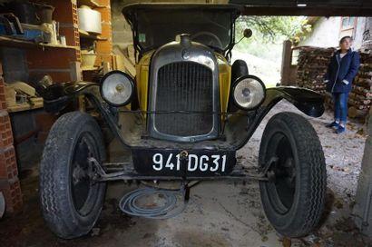 CITROEN TORPEDO, modèle C, type 5HP Jaune...