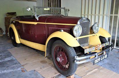 PEUGEOT 201 Roadster, 1929