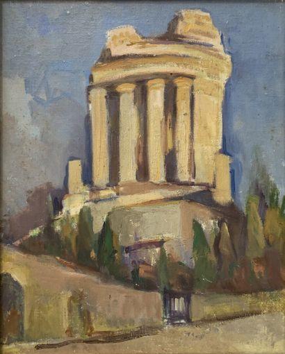 Marcel BERTOIN (1897-1983)  Trophée d'Auguste...