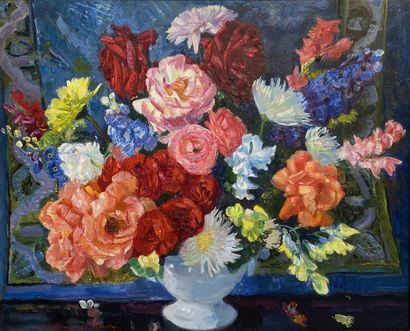 Louis BERTHOMMÉ-SAINT-ANDRÉ (1905-1977)  Bouquet...