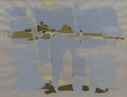 Jean-Raymond BESSIL (1916-1989)  Paysage...