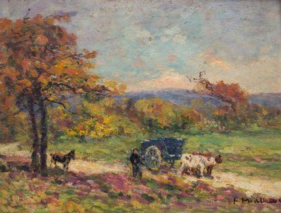 Fernand MAILLAUD (1862-1948)  La Vallée noire...