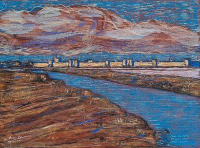 Vincent BIOULES (1938)  Aigues Mortes, 2004...