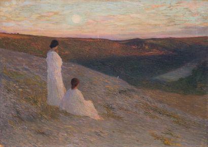 Henri MARTIN (1860-1943)  Les muses veillant...