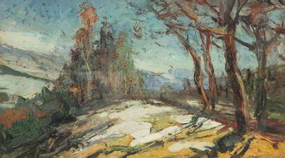 Abbé Pierre CALES (1870-1961)  Les Adrets,...