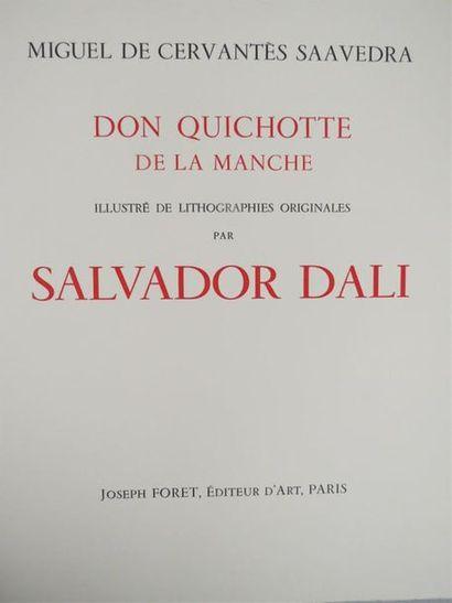 CERVANTÈS. Don Quichotte de la Manche. Illustré...
