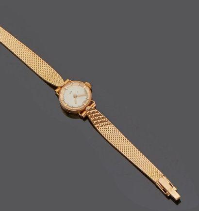 LIP montre de dame en or  Bracelet montre...