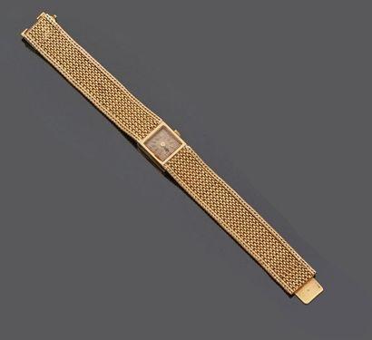 Paul GARNIER  Montre bracelet de dame en...