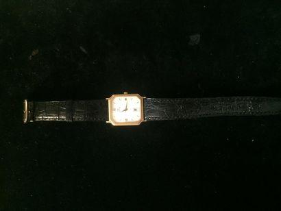OMEGA Montre bracelet d'homme Omega en or...