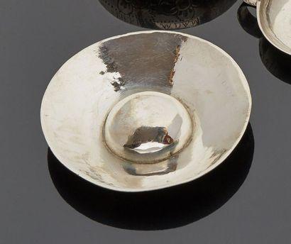 BORDEAUX 1781 - 1782  Tasse à vin en argent...