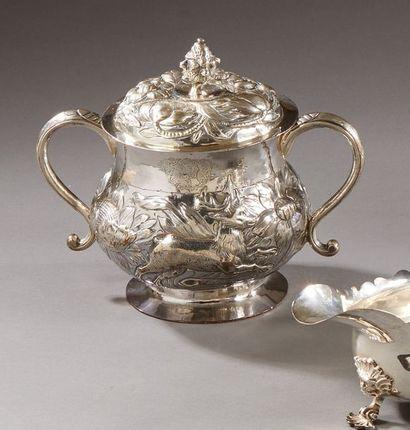 Londres 1663-1664 Coupe couverte à deux...