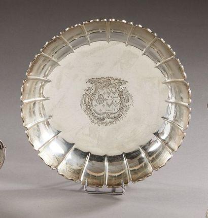 LONDRES 1750 - 1751    Jatte en argent de...
