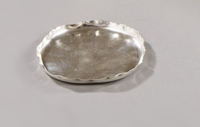 CHRISTOFLE  Vide poche en métal argenté,...