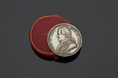 VATICAN - Médaille en ARGENT - Place du Quirinal...