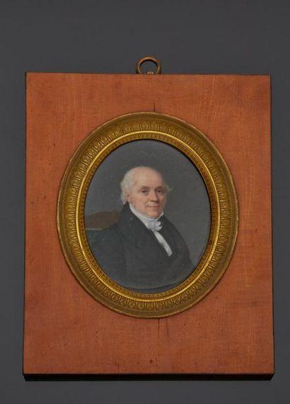 Flavien Emmanuel CHABANNE (1799-c.1859)  Portrait...