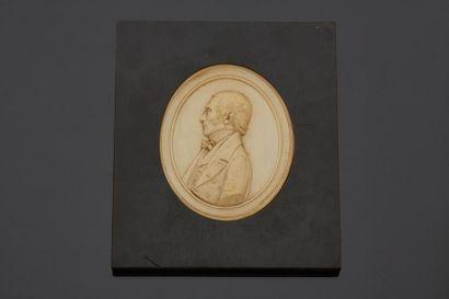 Ecole FRANCAISE du XIXe siècle  Portrait...