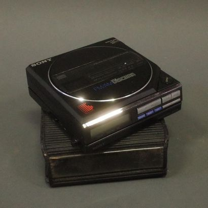 Sony FMAN Discman avec son pack batterie...